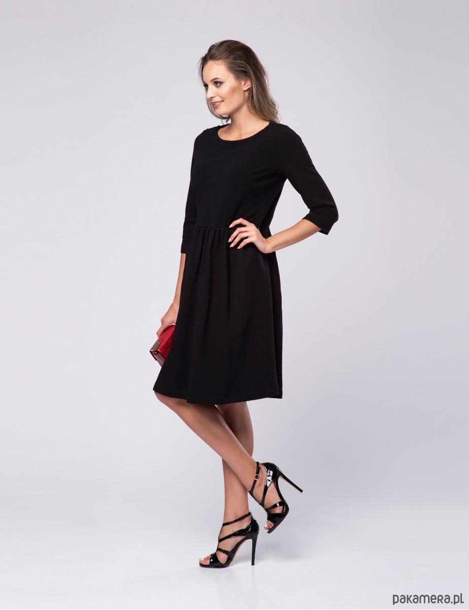 26e6b13e2 Sukienka damska Scarletta LOOK czarna - sukienki - mini - Pakamera.pl