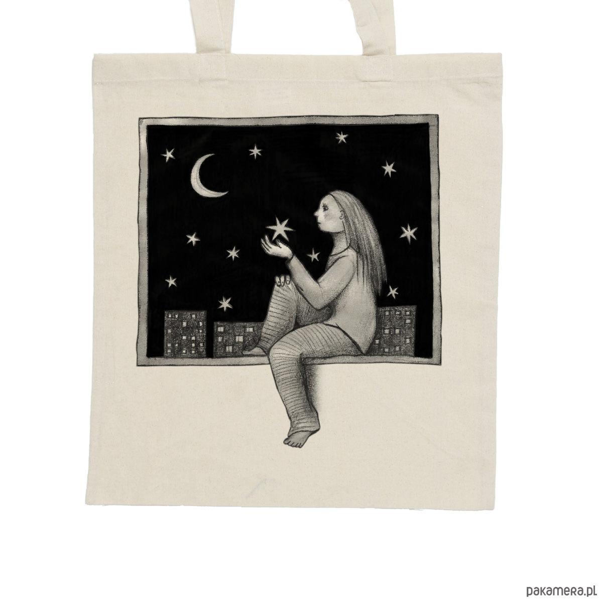 34436f497640c Kwiaty - torba bawełniana czarna - torby na zakupy - unisex ...