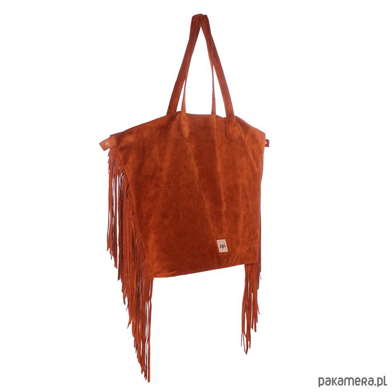 a180c57dd37f1 Torebka skórzana damska Savona jasny brąz - torby na ramię - damskie ...