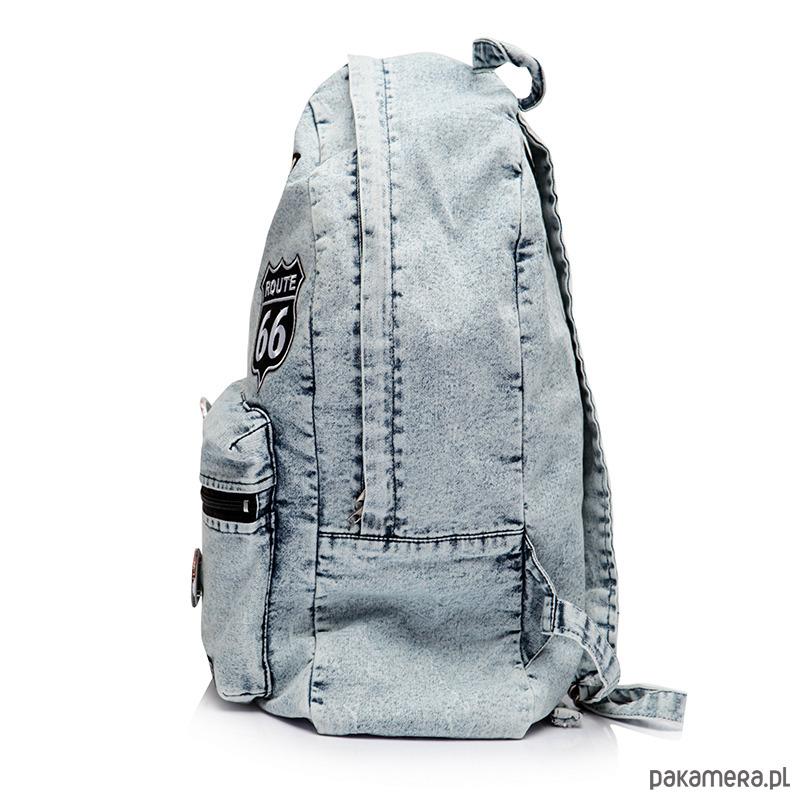 505b9972f0da0 Plecak szkolny młodzieżowy vintage jeans ST06 - plecaki - Pakamera.pl
