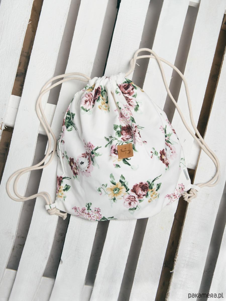 7c64da6e1b1a0 Plecak w kwiaty - Lootbag mini/ flowers - plecaki - Pakamera.pl