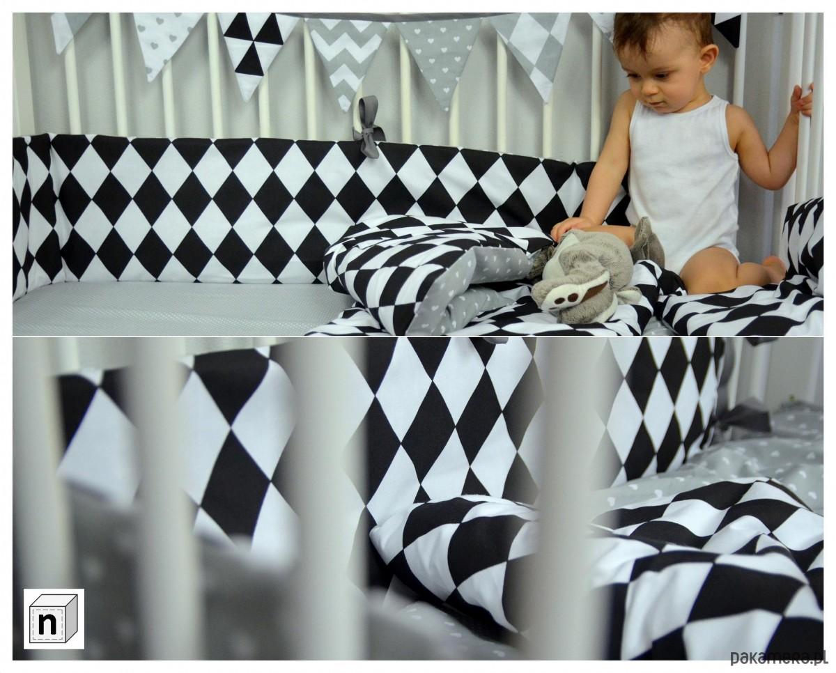 Pościel Dziecięca Czarno Biała Pokój Dziecka Kocyki Kołderki