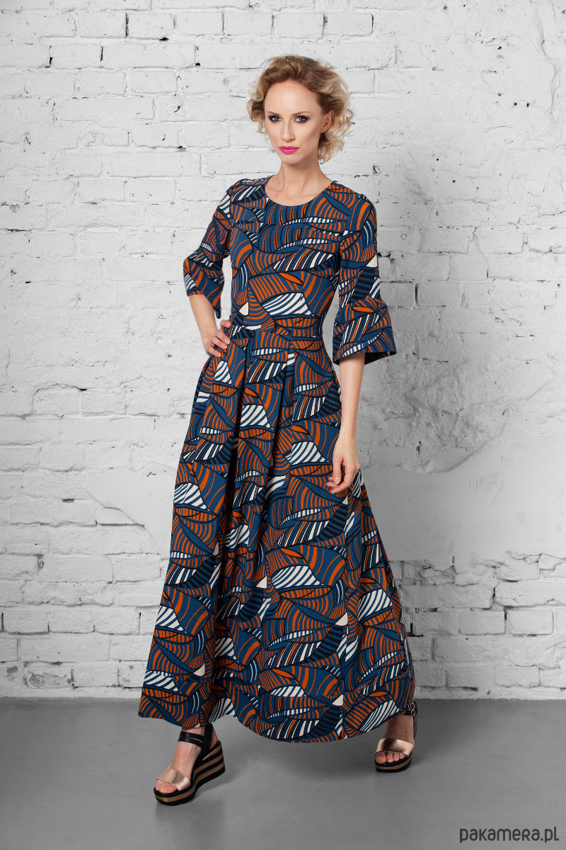05a0a47ec1 Długa suknia SICILIA - sukienki - maxi - Pakamera.pl