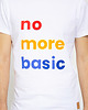 T-shirt haftowany męski No more basic