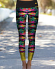 Boho Jungle Monstera Leggings S/M