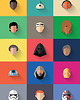Star Wars - New Icon Set - plakat giclee