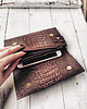 Strap Wallet Black Croco